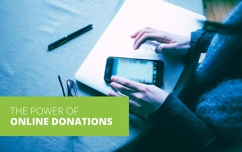 the power of online donations