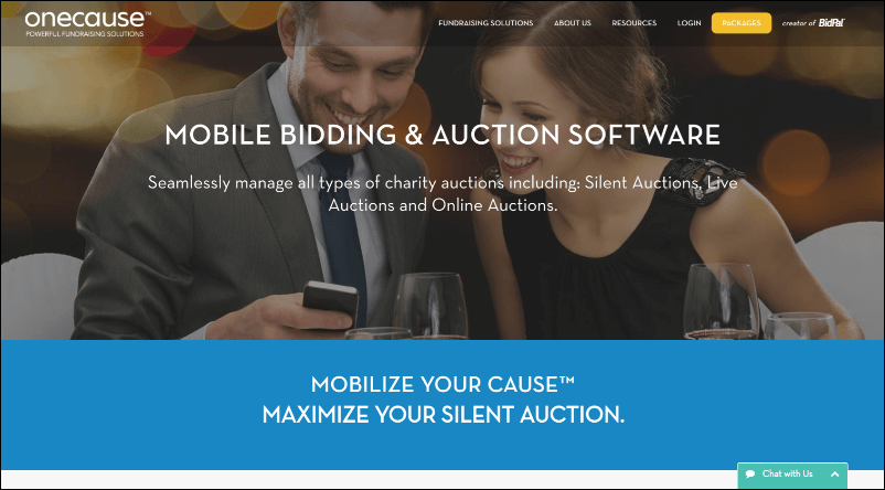 See what the OneCause event fundraising software can do for you.