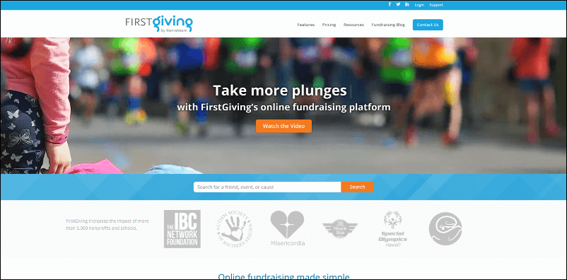 See how FirstGiving's peer-to-peer fundraising software can help your organization manage your next fundraiser.