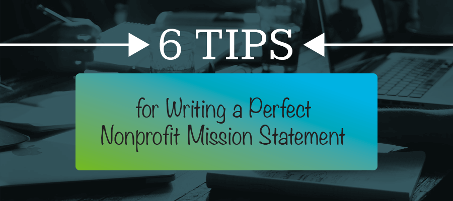 Nail your nonprofit mission statement