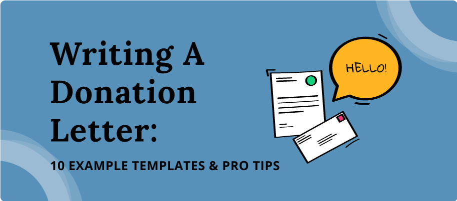 Writing A Donation Letter  10 Example Templates  U0026 Pro Tips