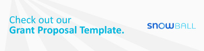 Check out our free grant proposal template.