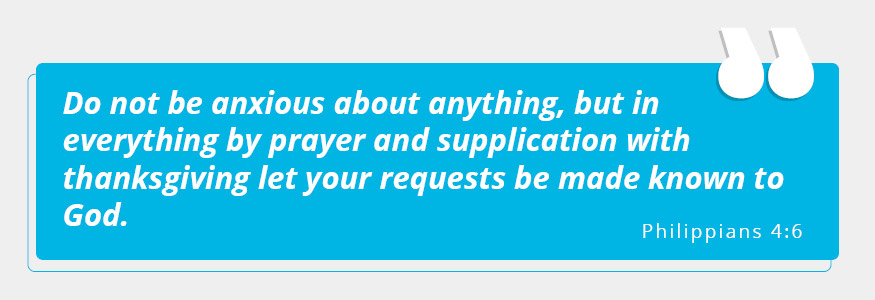 Be sure to pray constantly while starting a church.