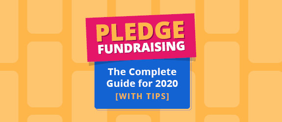 Pledge fundraising is a great way to raise support for your organization.