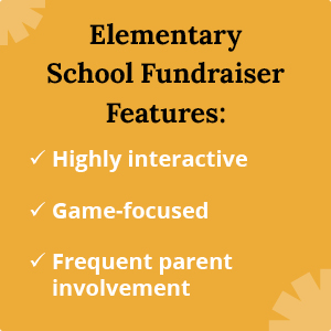 These are common features of elementary school fundraising ideas.