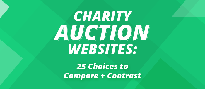 Learn more about our top suggestions for charity auction websites.